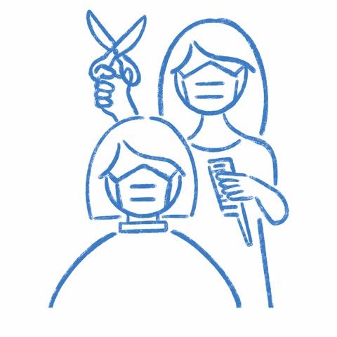 お客様への施術中マスクを着用のご協力のお願い
